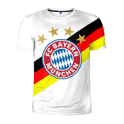 Мужская футболка 3D спортивная ФК Бавария