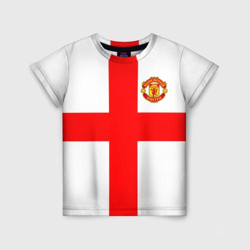 Детская футболка 3D Manchester united