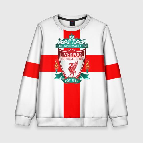 Детский свитшот 3D Ливерпуль ФК