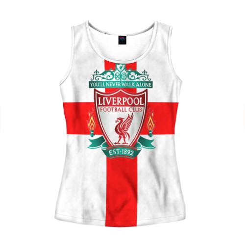 Женская майка 3D Ливерпуль ФК
