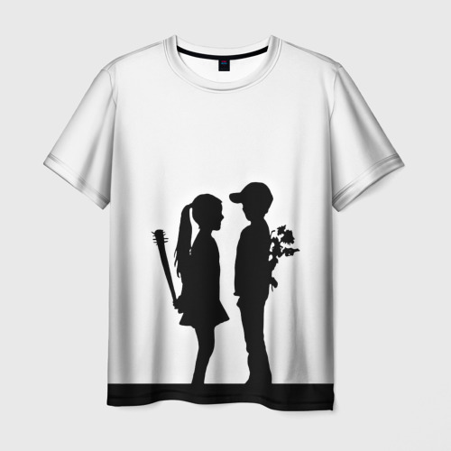 Мужская футболка 3D Свидание