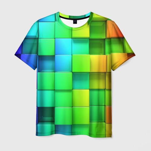 Мужская футболка 3D Пазлы