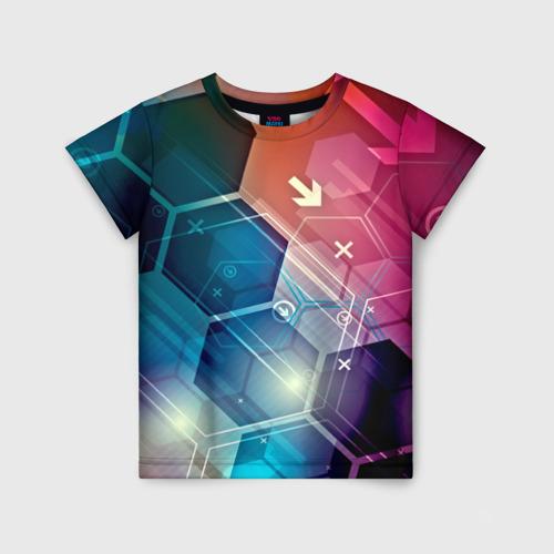 Детская футболка 3D Hi-tech