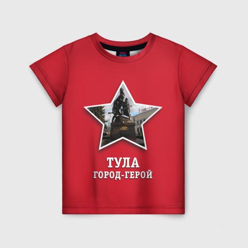 Детская футболка 3D Тула город-герой