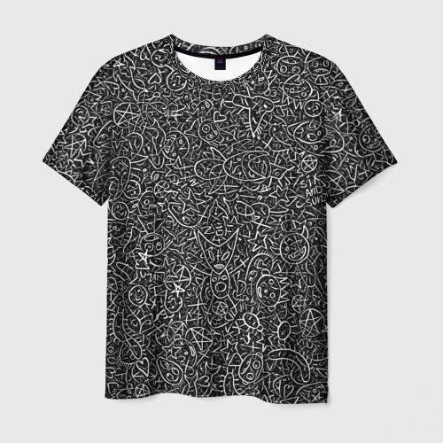 Мужская футболка 3D Die Antwoord. Рисунки