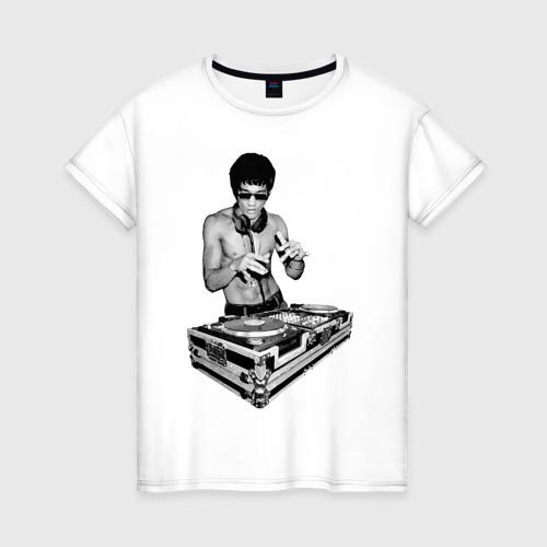 Женская футболка хлопок Брюс Ли Dj