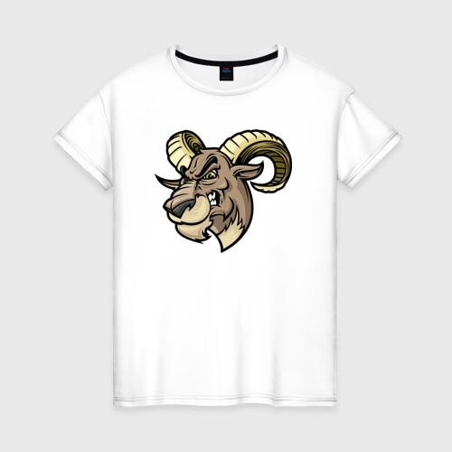 Женская футболка хлопок Овен