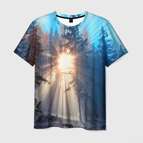 Мужская футболка 3D Woodland