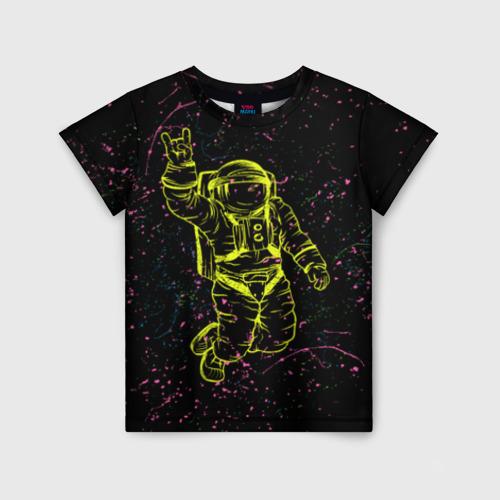 Детская футболка 3D Космический рок