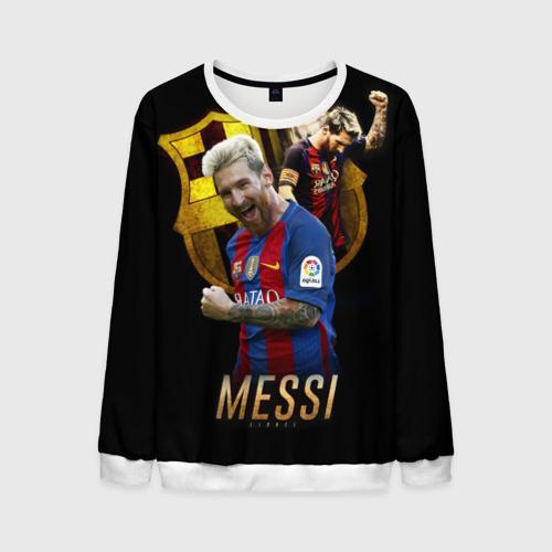 Мужской свитшот 3D Messi