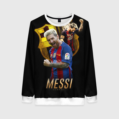 Женский свитшот 3D Messi