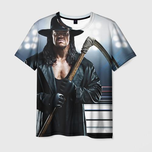 Мужская футболка 3D Гробовщик 1