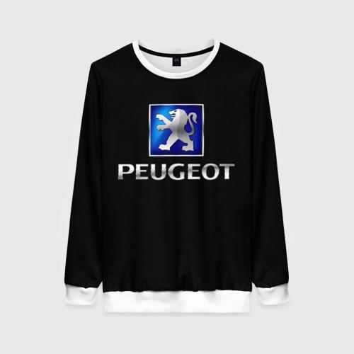 Женский свитшот 3D Peugeot