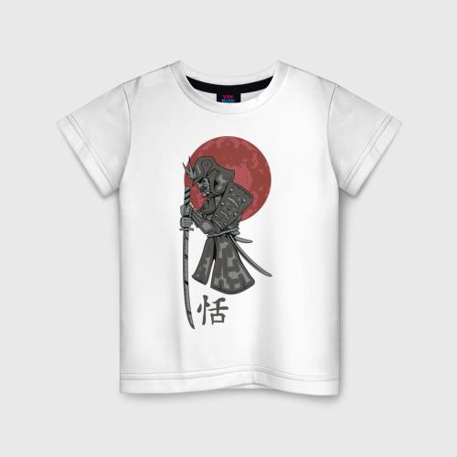 Детская футболка хлопок Самурай