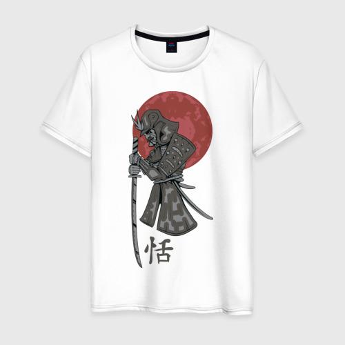 Мужская футболка хлопок Самурай