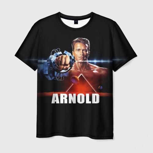 Мужская футболка 3D Arnold