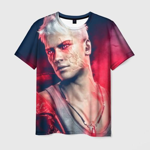 Мужская футболка 3D DmC: Devil May Cry
