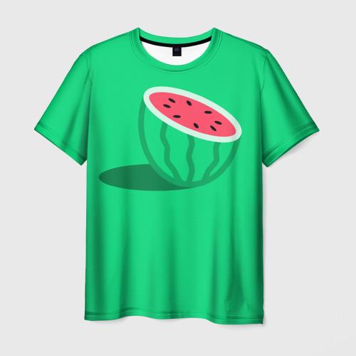 Мужская футболка 3D Арбуз