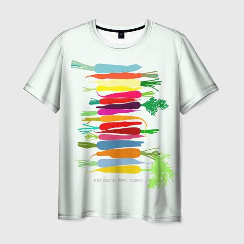 Мужская футболка 3D Feel Good
