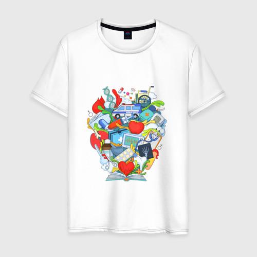 Мужская футболка хлопок Интерны