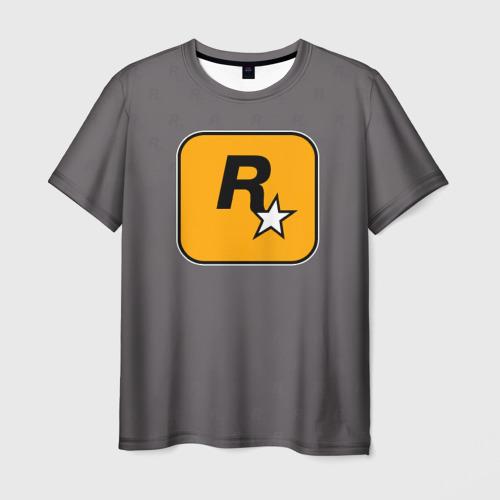 Мужская футболка 3D Rockstar Games