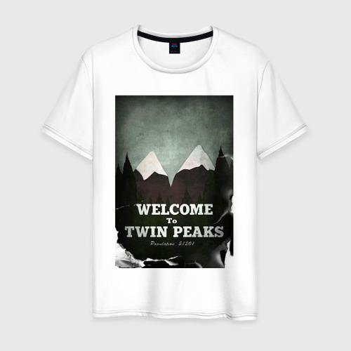 Мужская футболка хлопок Twin Peaks