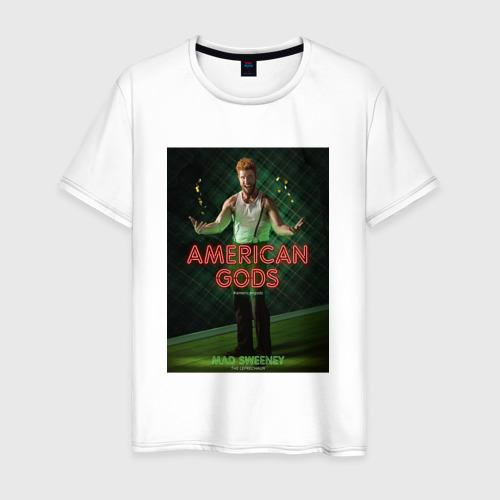 Мужская футболка хлопок Американские Боги 3