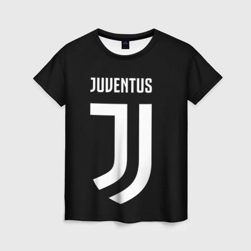Женская футболка 3D Ювентус