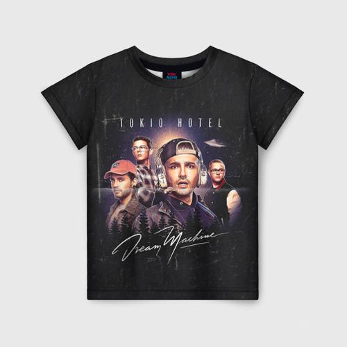 Детская футболка 3D Tokio Hotel