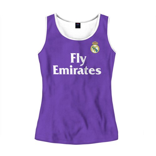 Женская майка 3D Реал Мадрид
