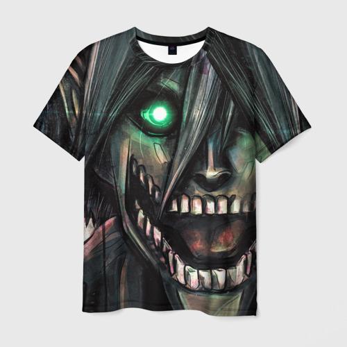 Мужская футболка 3D Атака Титанов