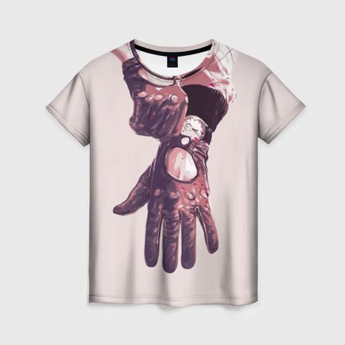 Женская футболка 3D Драйв