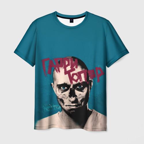 Мужская футболка 3D Гарри Топор