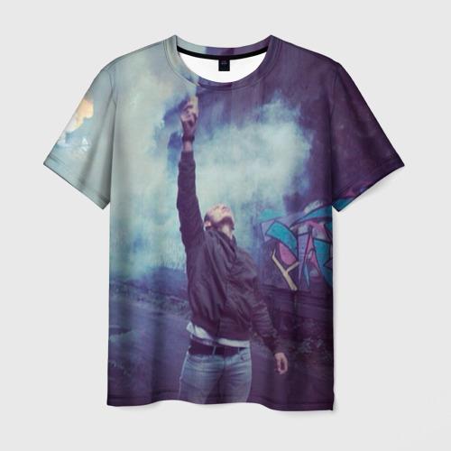 Мужская футболка 3D Тони Раут