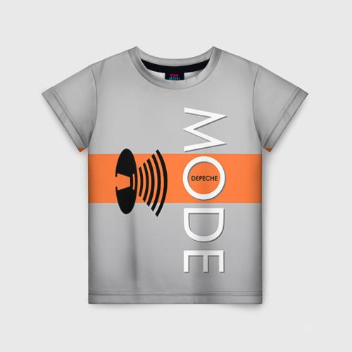 Детская футболка 3D Depeche mode