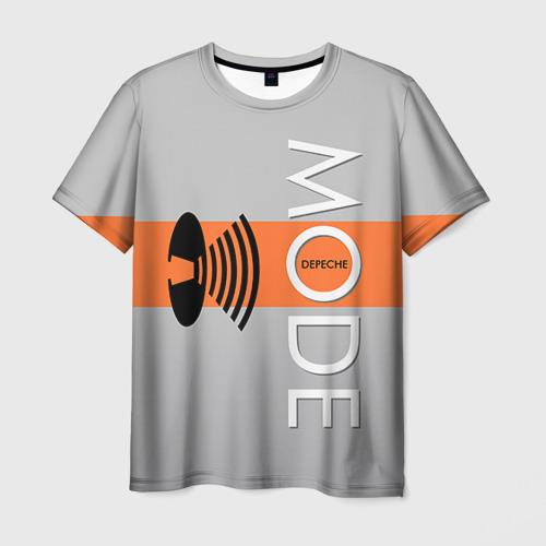 Мужская футболка 3D Depeche mode