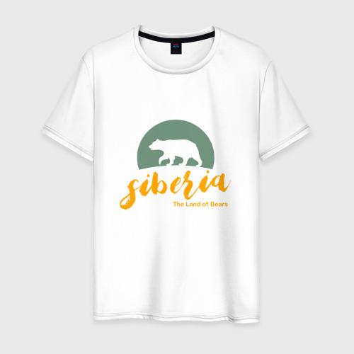 Мужская футболка хлопок Siberia