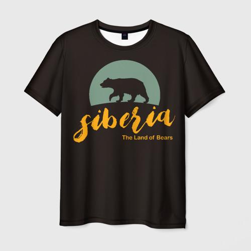 Мужская футболка 3D Siberia