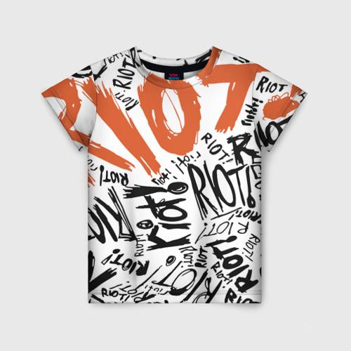 Детская футболка 3D Paramore 1