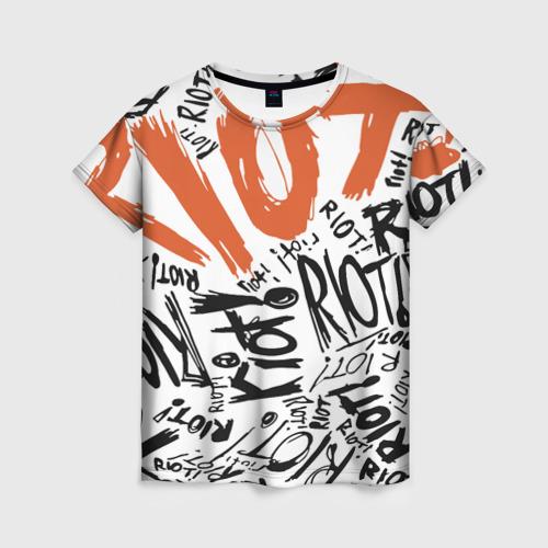 Женская футболка 3D Paramore 1