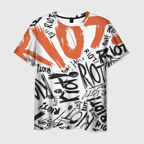 Мужская футболка 3D Paramore 1