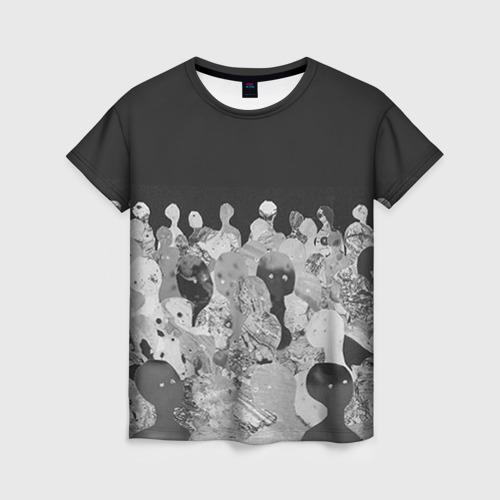 Женская футболка 3D Radiohead 1