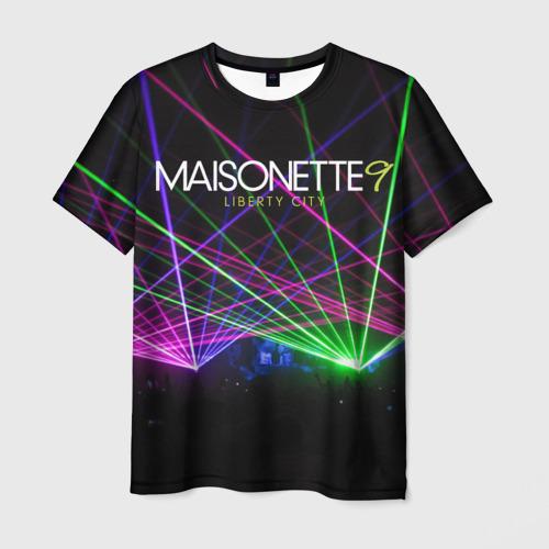 Мужская футболка 3D GTA - Night Club Maisonette 9