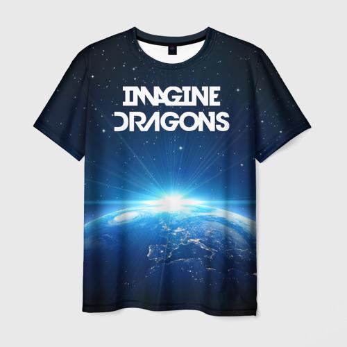 Мужская футболка 3D WORLD