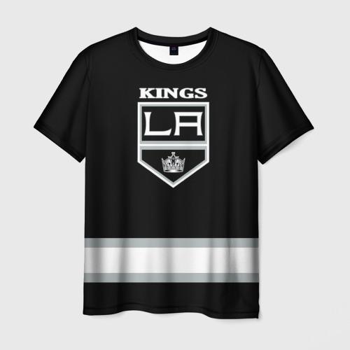Мужская футболка 3D Los Angeles Kings NHL
