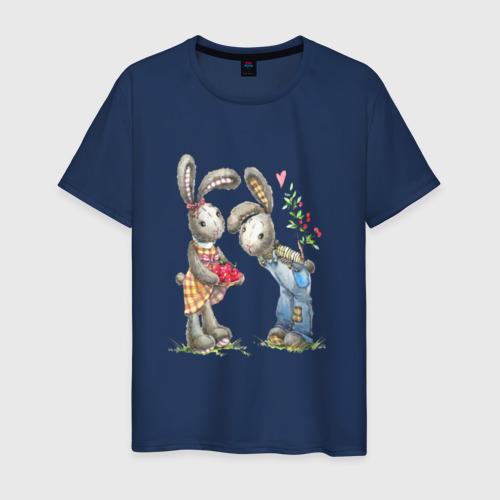Мужская футболка хлопок Любовь