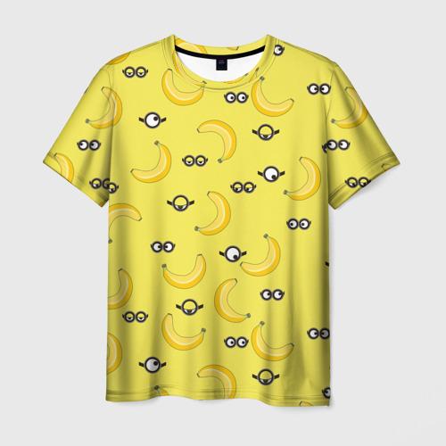 Мужская футболка 3D Миньоны