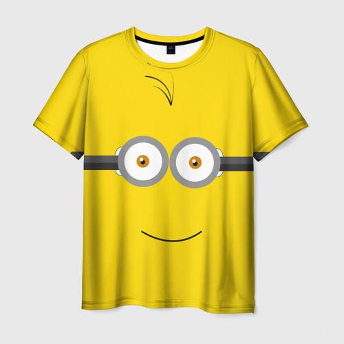 Мужская футболка 3D Ты миньон