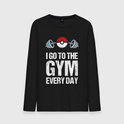 Мужской лонгслив хлопок Gym Everyday