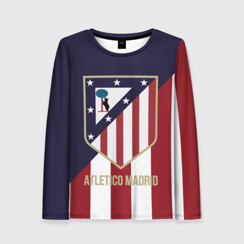 Женский лонгслив 3D Атлетико Мадрид